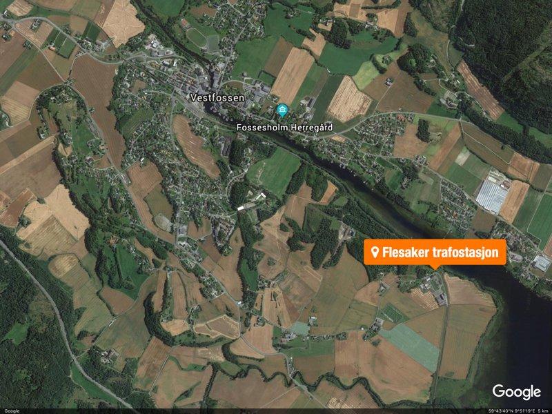 Vestfossen: Kraftige smell fra Flesaker skapte bekymring 2