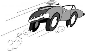 Sande: Up stanset kvinne i 53 km/t over fartsgrensen 1
