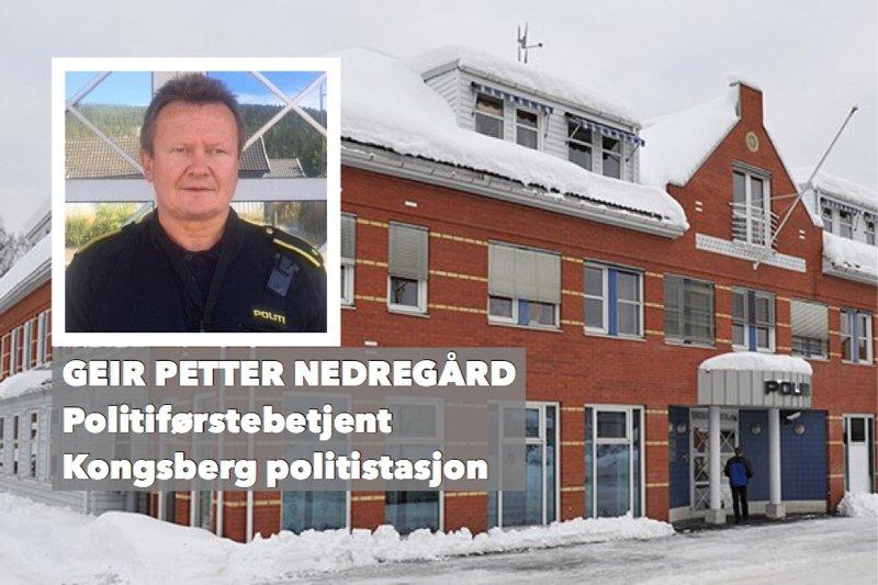 Ærlige tanker - fra en politibetjent ved Kongsberg politistasjon 1