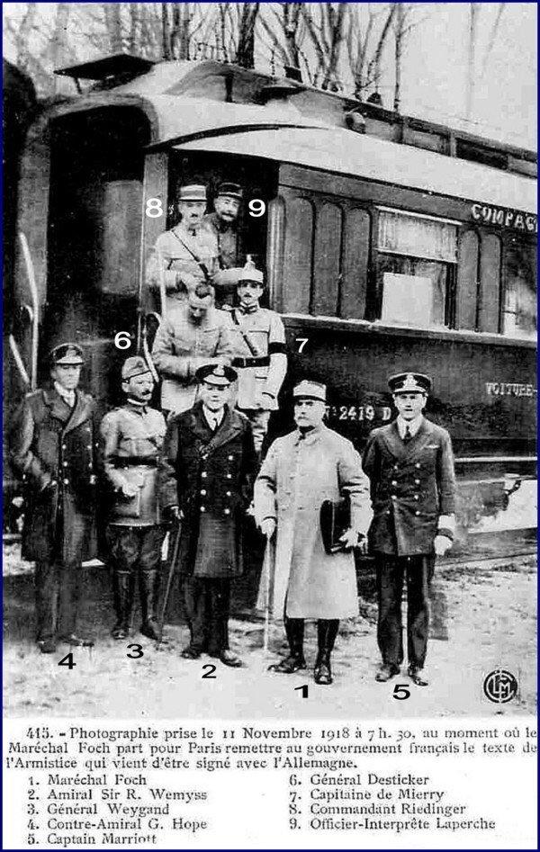På denne dag - for hundre år siden - sluttet første verdenskrig 1