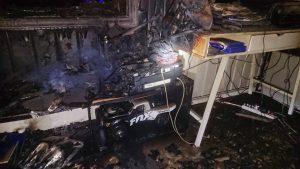 Froland: Ladbar lekebil tok fyr - familie og hund reddet av røykvarsler 2