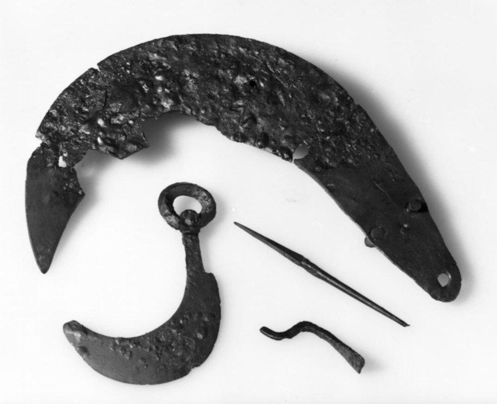 2000 år gammel grav funnet i Vestfossen i 2017 - nå foreligger rapporten 3