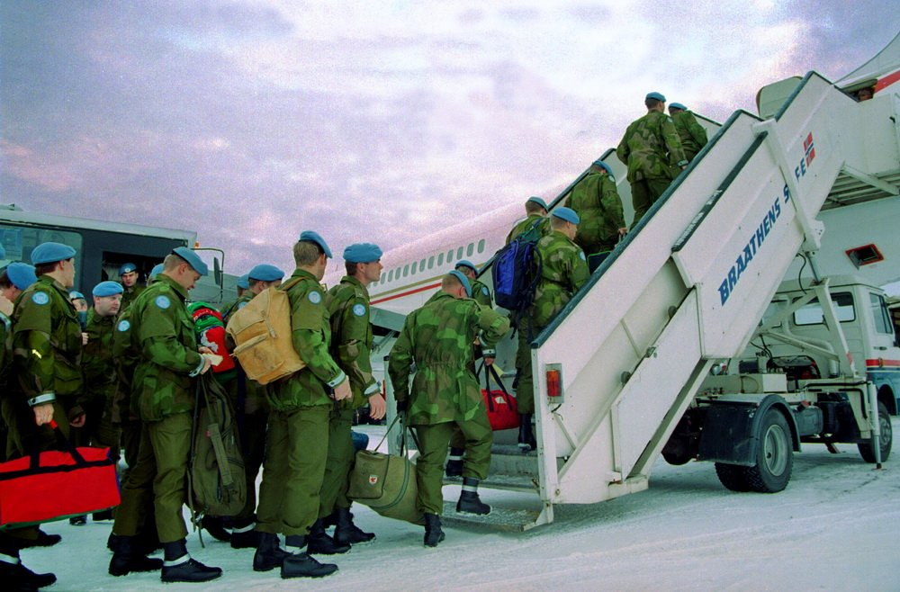 Hokksund: Forsvarets minnemynt til fem UNIFIL-veteraner 2