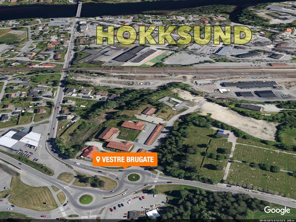 Hokksund: Mann i rullestol skadet etter påkjørsel 2