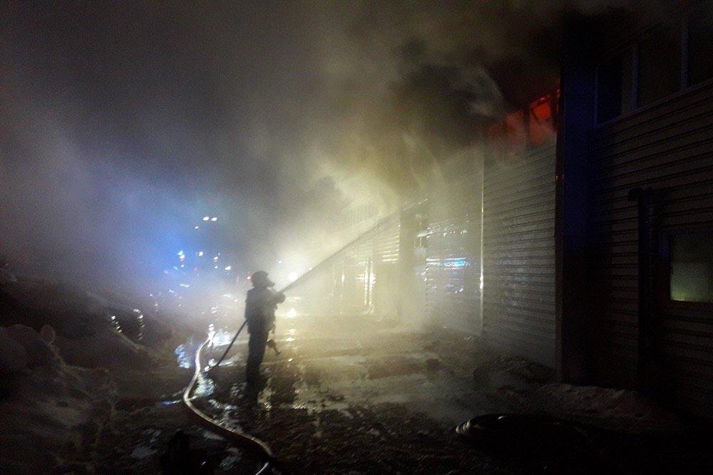 Hokksund: Røyken hadde knapt lagt seg før Bråtens Bilco igjen viste muskler 4