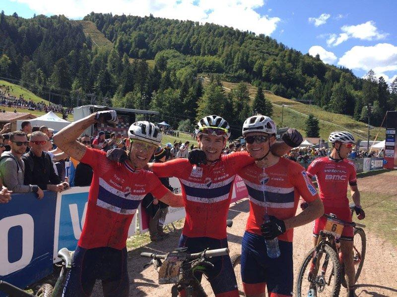Syklister fra Fiskum tatt ut til landslaget i terrengsykling 3