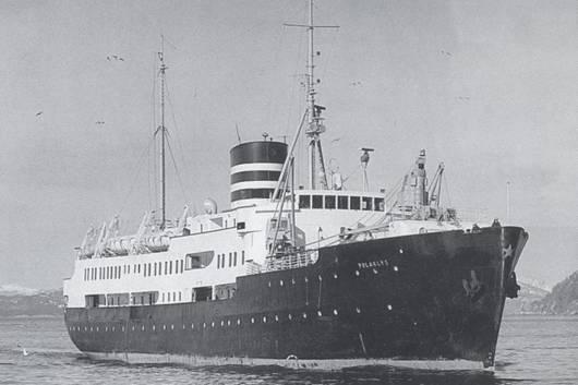 """Verdens første hybriddrevne cruiseskip - MS Roald Amundsen """"ute på prøve"""" 1"""
