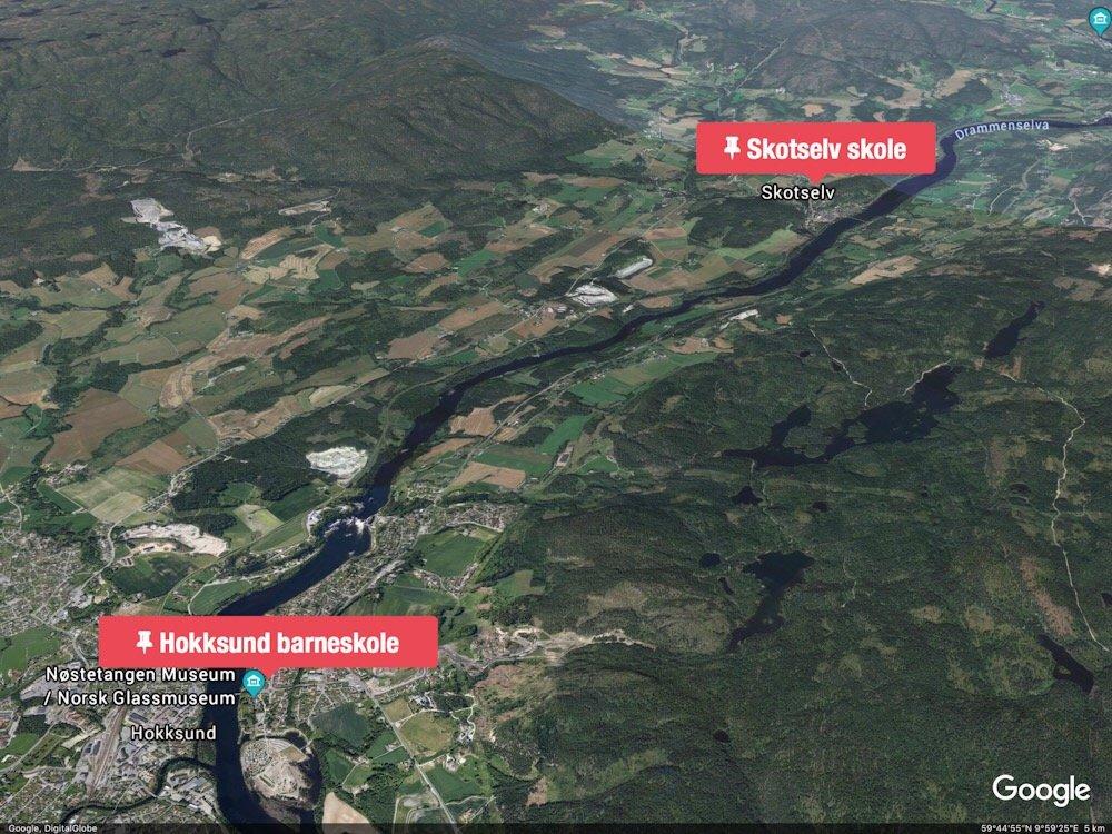 Vurderer å busse elever fra Hokksund til Skotselv 4