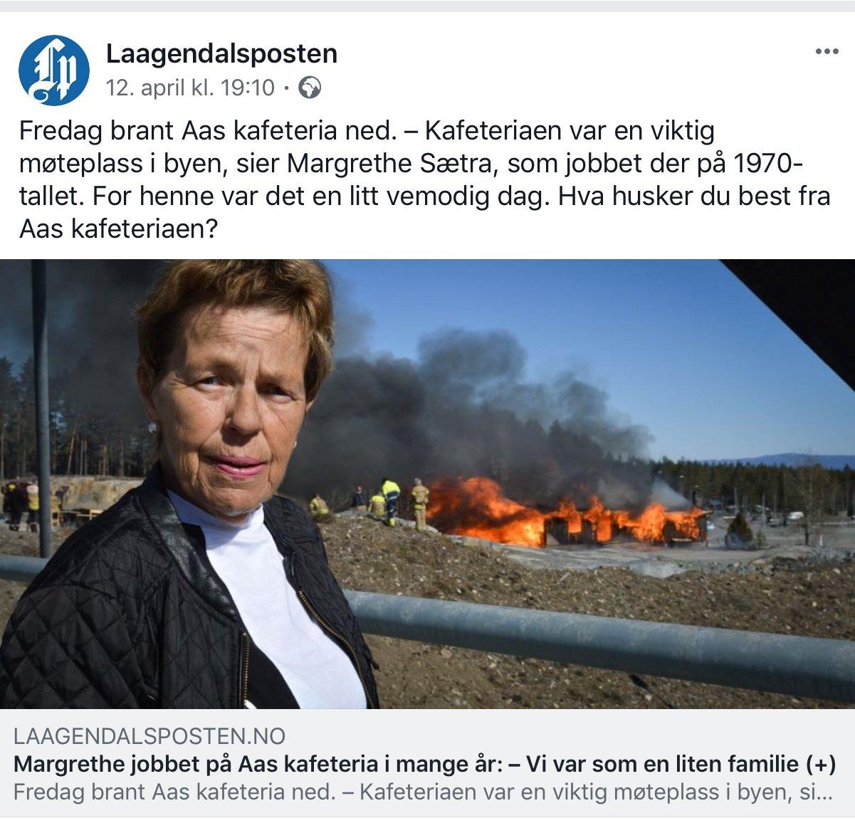 Kongsberg: Da Aas kafeteria gikk over i historien 2