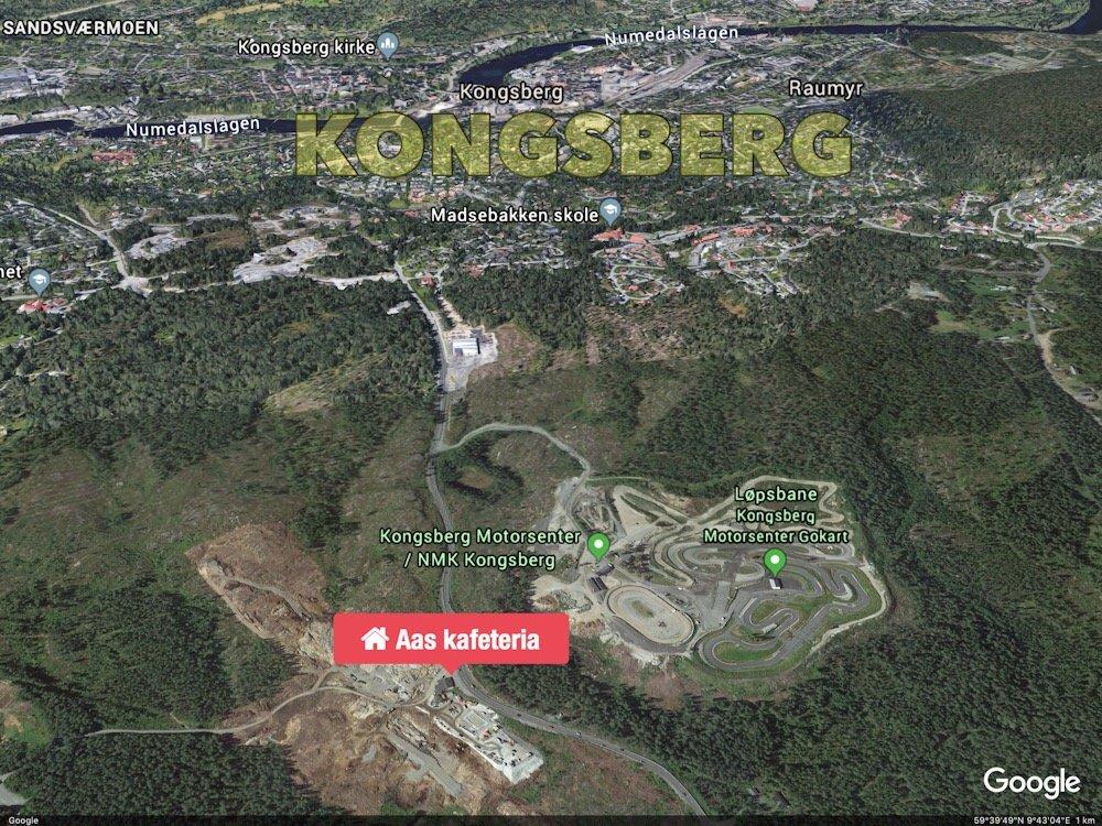 Kongsberg: Da Aas kafeteria gikk over i historien 16