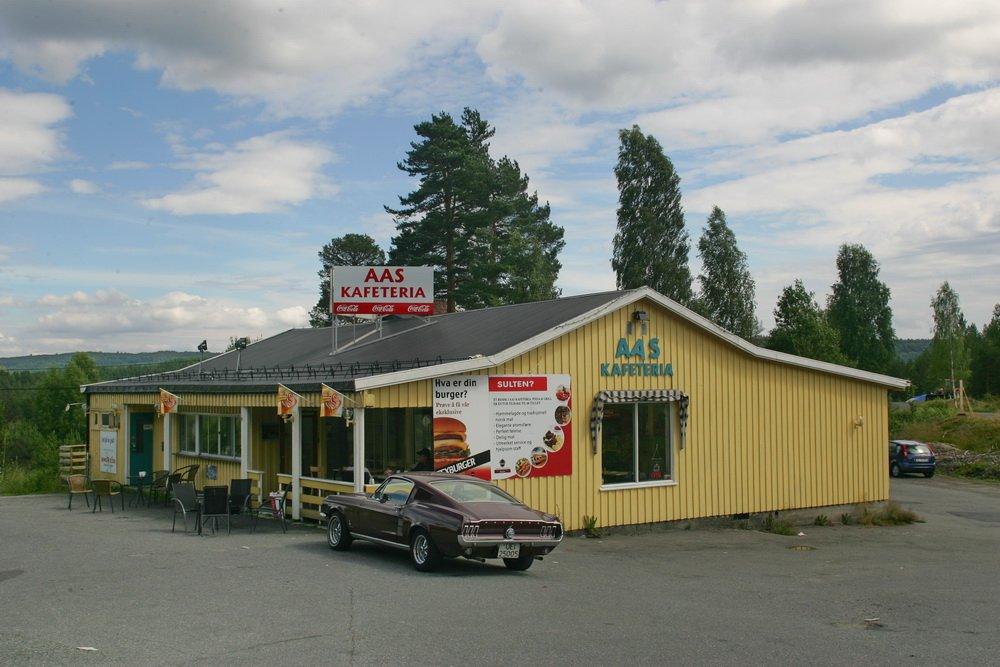 Kongsberg: Da Aas kafeteria gikk over i historien 1