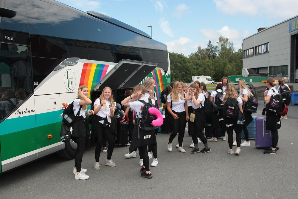 Eagles-jentene fra Eiker på plass i Sankt Petersburg 3