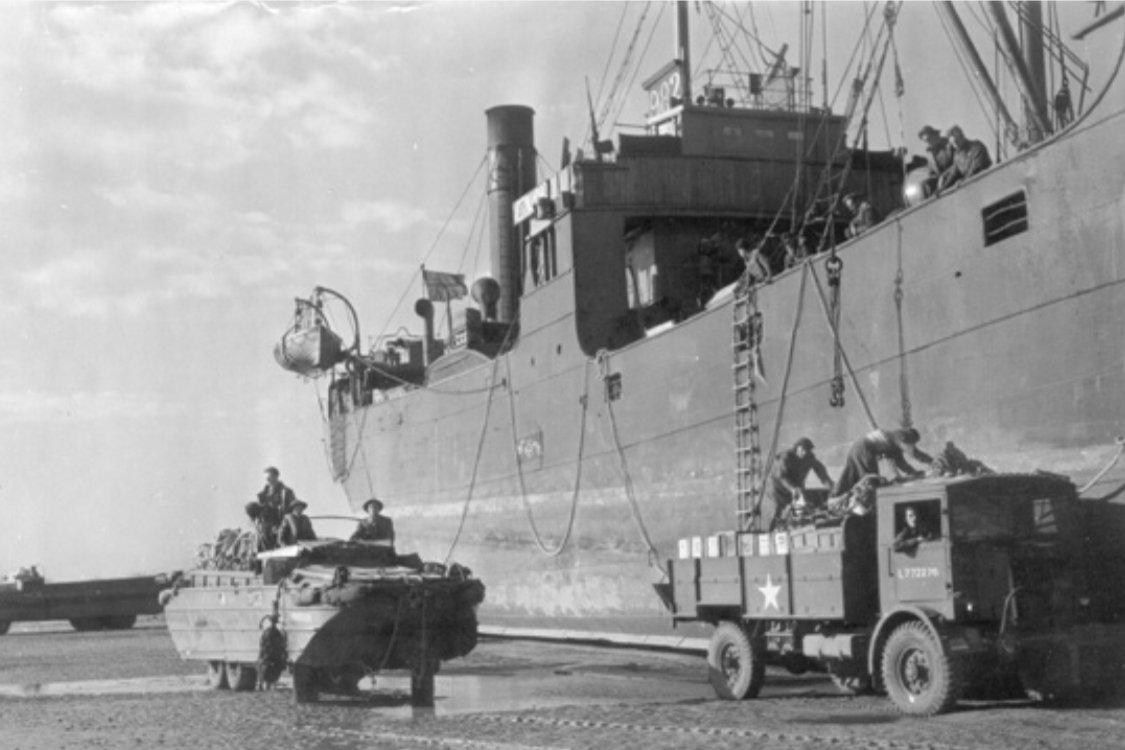 Normandie 1944: I dag er det 75 år siden senkingen av Svenner 4