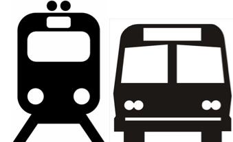 Buss for tog mellom Drammen og Asker fra 22. juni til 4. august 1