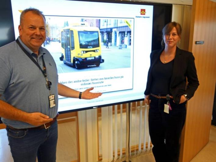 Selvkjørende buss i kongsberg skaper internasjonal oppmerksomhet 3