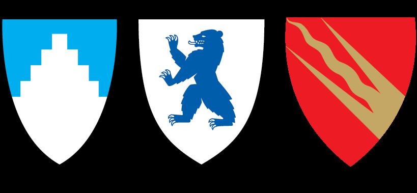 Trude fra Drammen tegnet Vikens nye fylkesvåpen 3