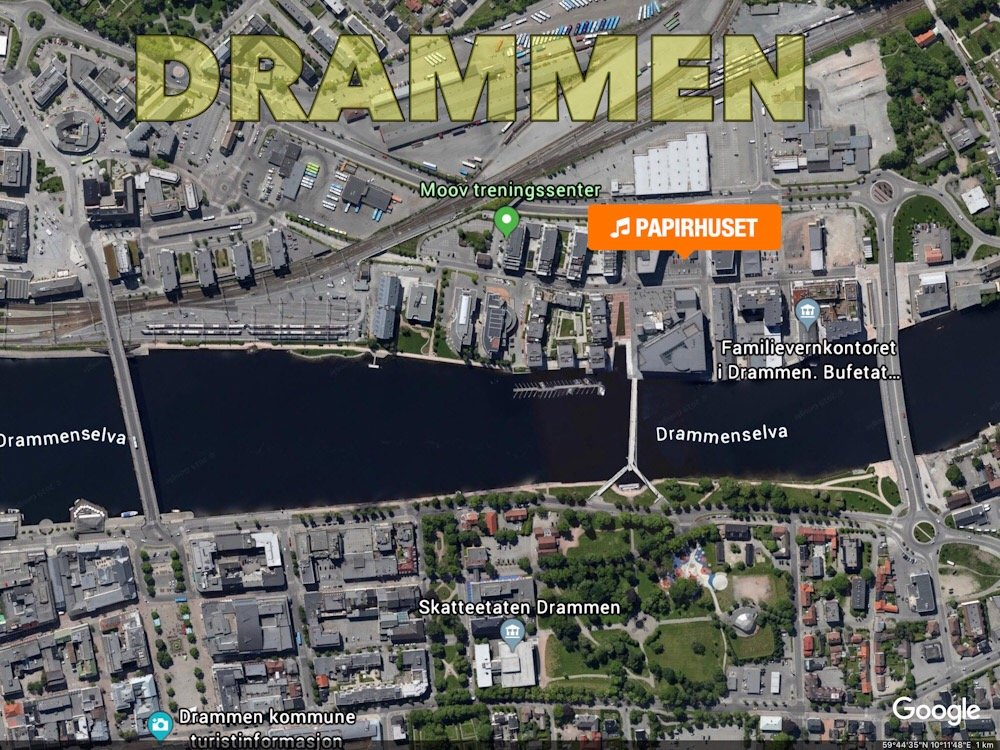 """Møt opp til """"torsdagsjam"""" på Papirhuset i Drammen! 1"""