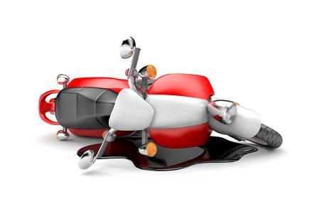 Hokksund: Utforkjøring med moped på Aasveien - fører bevisstløs 1