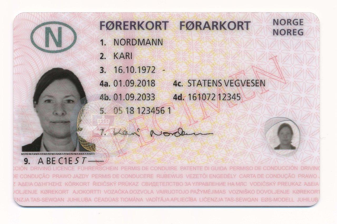 Fra og med i dag kan du laste ned førerkortet til din mobil 1