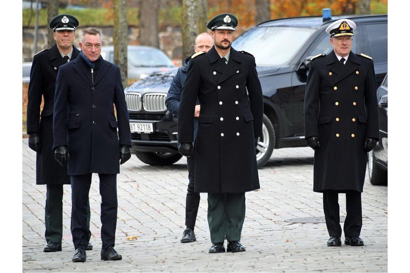 Markering av Forsvarets minnedag på Akershus Festning 2