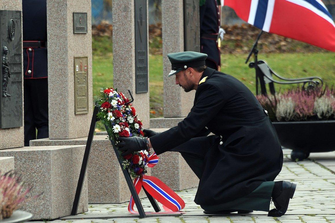 Markering av Forsvarets minnedag på Akershus Festning 3