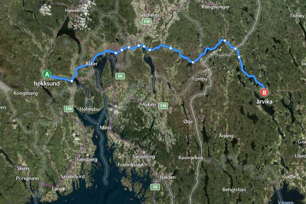 Siktede etter Hokksund-drapet pågrepet i Arvika 1