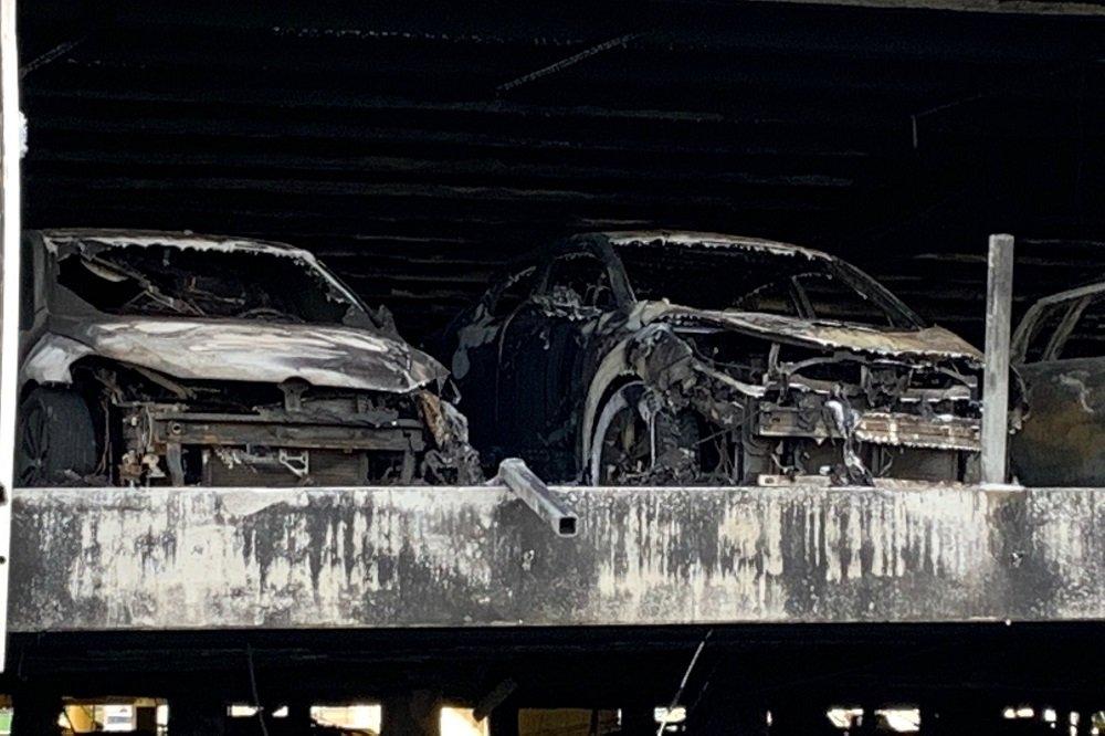Stavanger: Nesten 250 av bilene fra brannen i P-huset tilhører If-kunder 1