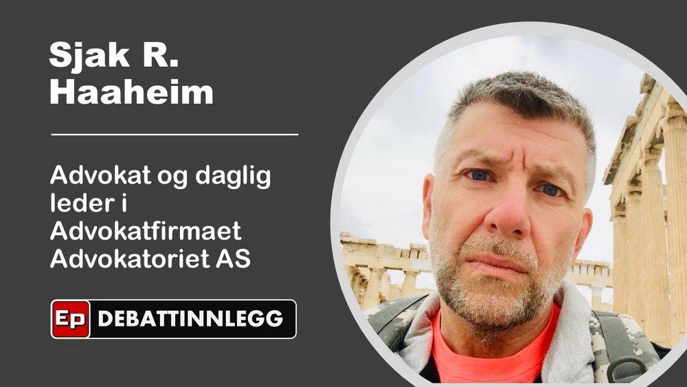 Advokat Sjak R. Haaheim om hytteturister og Heimevernet 1